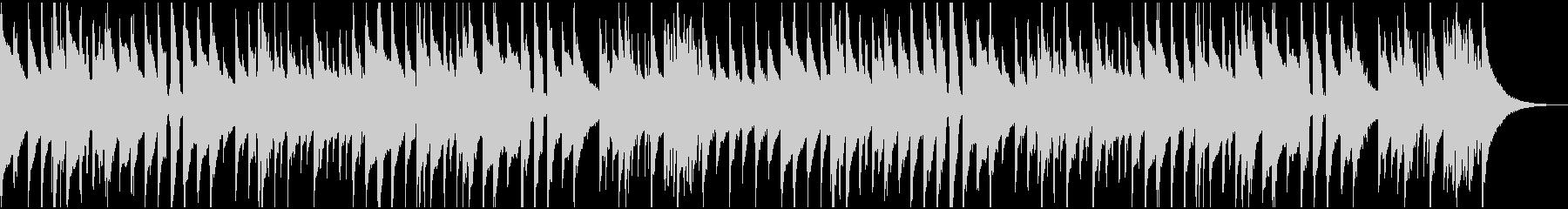 アコギのゆったりしたBGMの未再生の波形