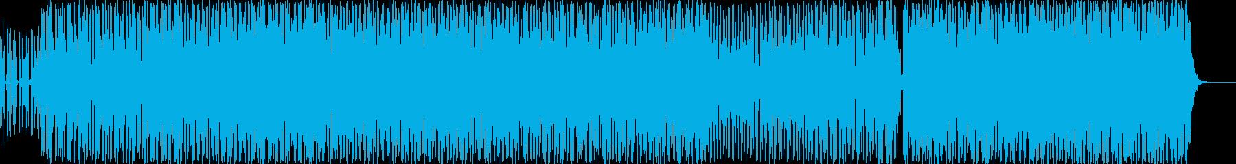 ポップ アクション 繰り返しの 緊...の再生済みの波形