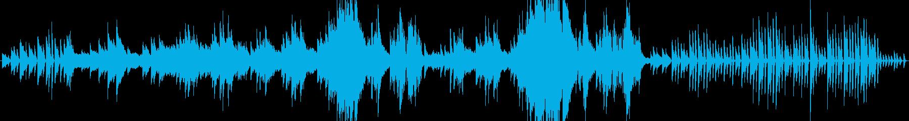 ピアノソナタ田園第1楽章よりの再生済みの波形