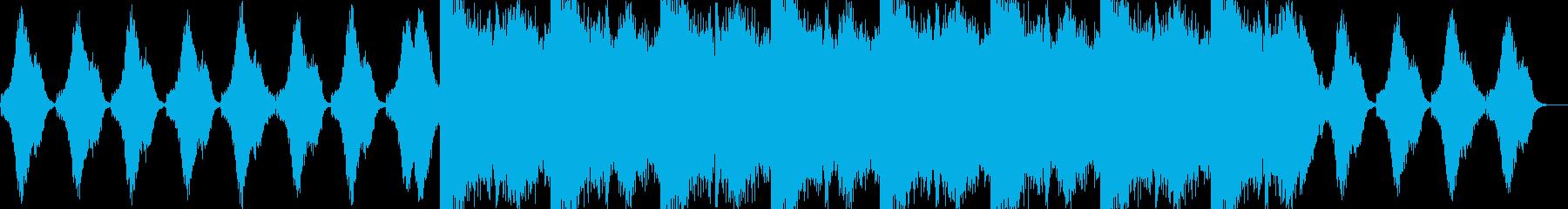 暗く不愉快な曲です。ホラーなどに。の再生済みの波形