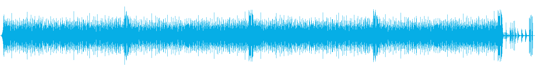 Kawaii系エレクトロ風BGMです。の再生済みの波形