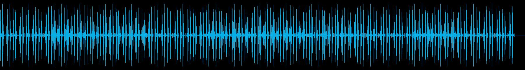 YouTubeなどのほのぼのBGMの再生済みの波形