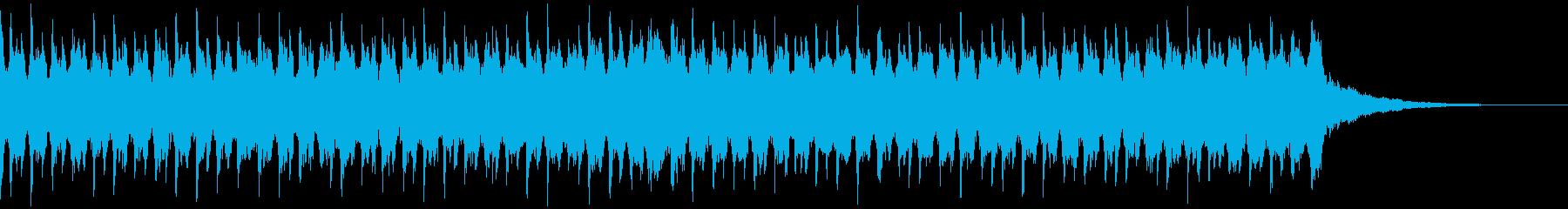 企業VP系155、爽やか4つ打ちハウスSの再生済みの波形