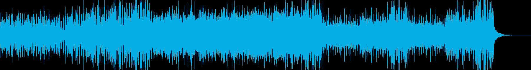 重々しい緊迫感 ストリングスの再生済みの波形