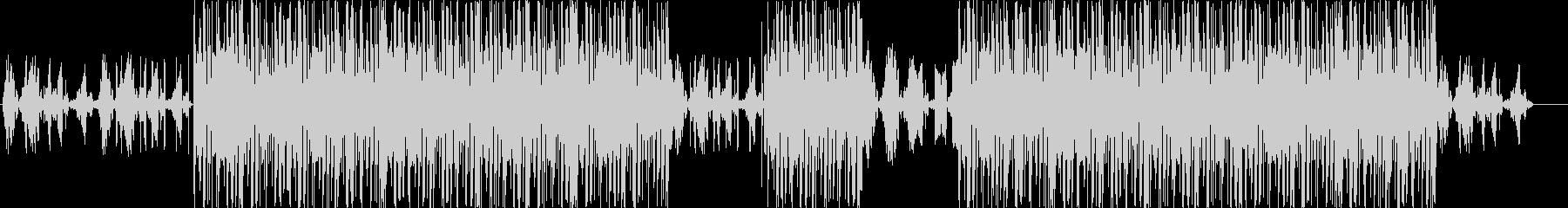 洋楽、ヒップホップ、トラップサウンド♪の未再生の波形