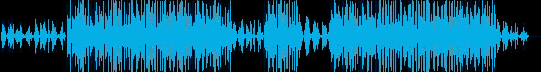 洋楽、ヒップホップ、トラップサウンド♪の再生済みの波形