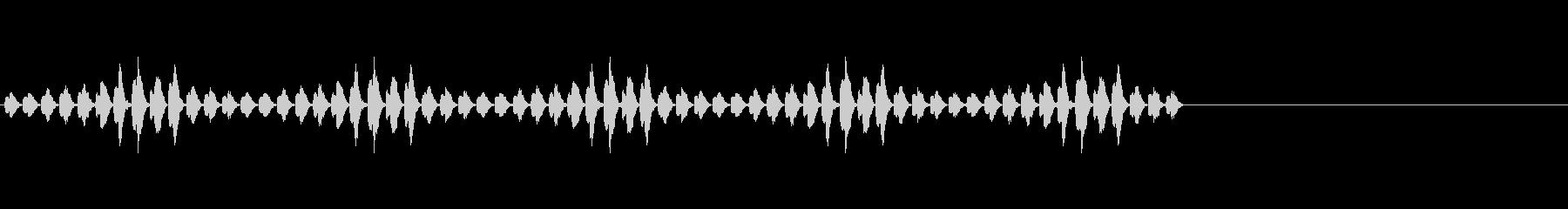 シンセアラーム;高音から低音へのト...の未再生の波形