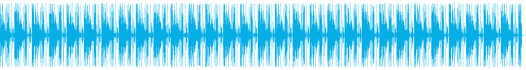 3分ロングver 可愛いエレピとビートの再生済みの波形