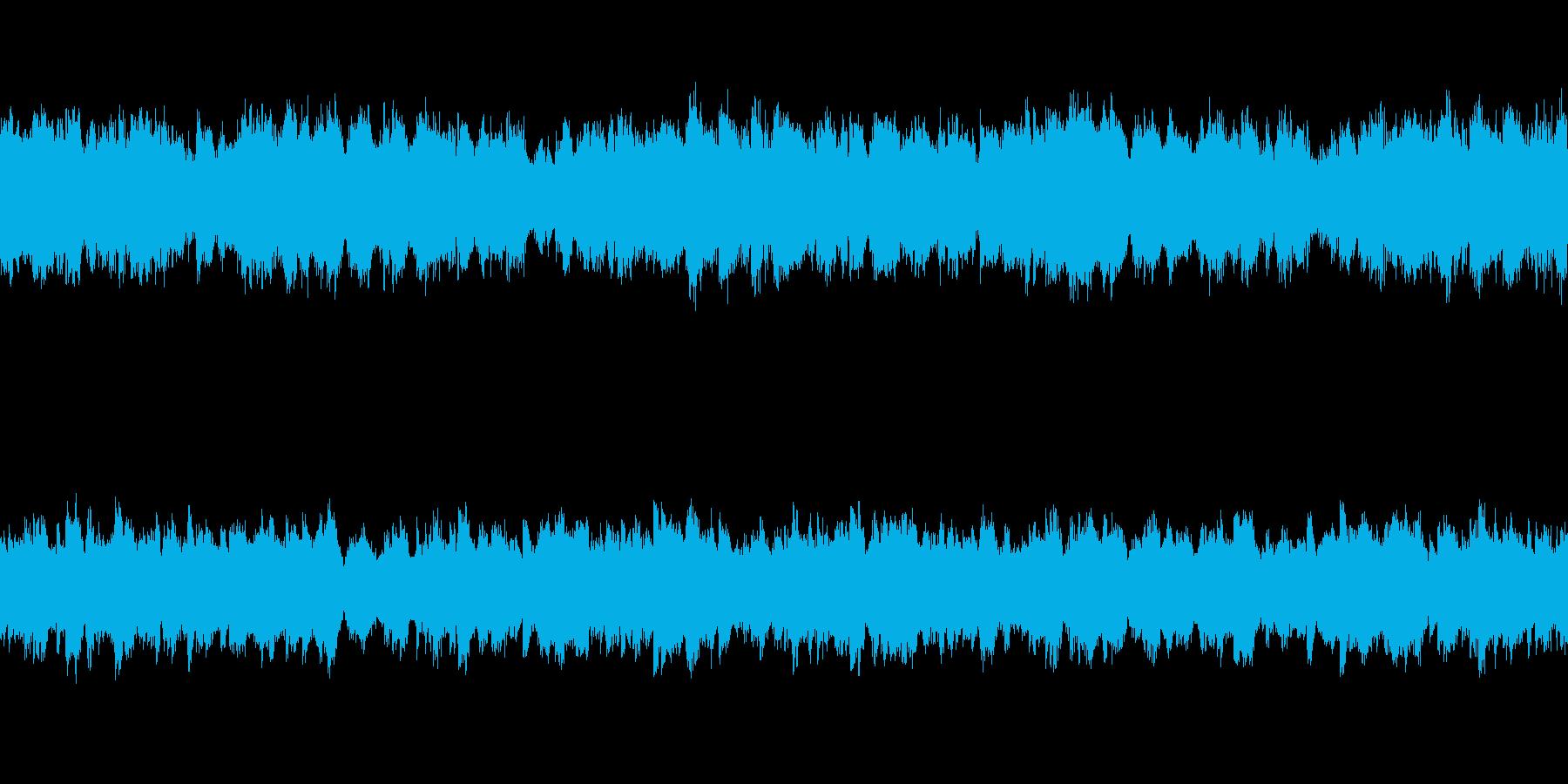 ゆったりとした弦楽四重奏とピアノ ループの再生済みの波形