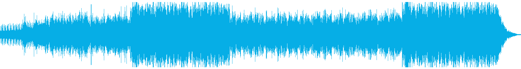儀式でトランスしてるようなBGMの再生済みの波形