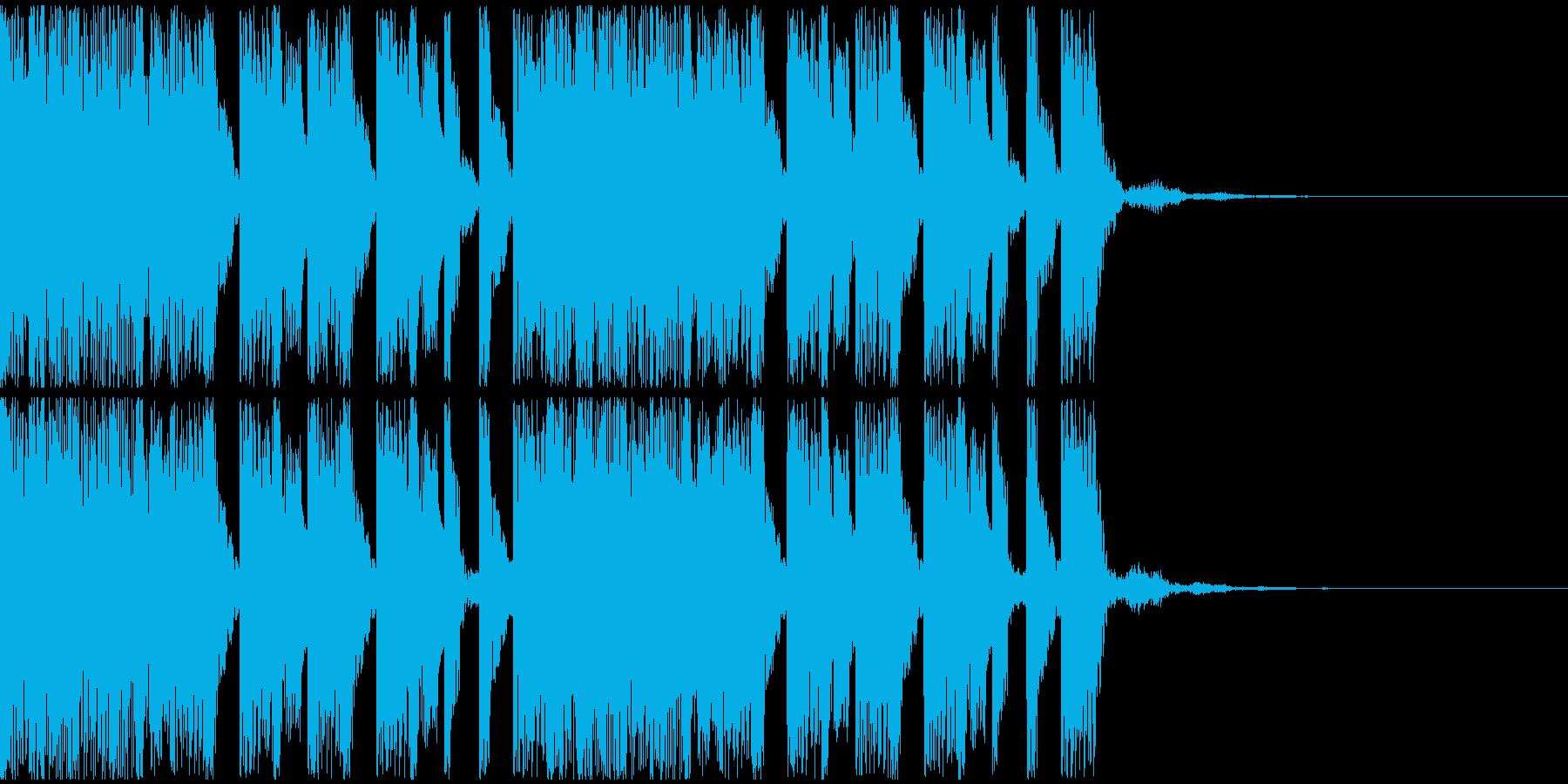 【EDM】トランス、ロング8、ショート2の再生済みの波形