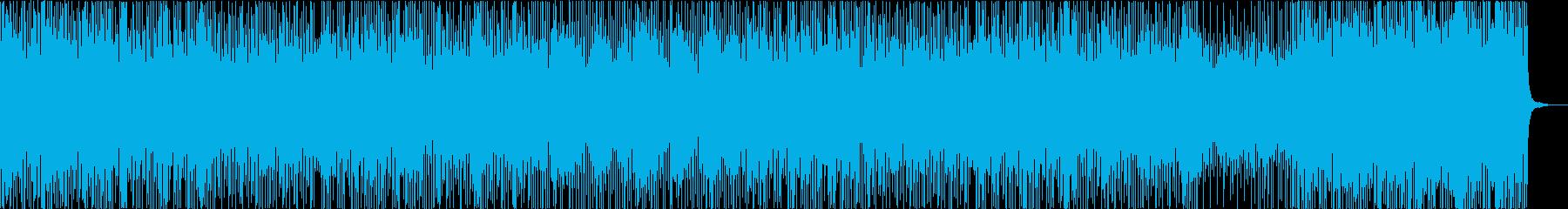 オシャレでかわいいピアノとストリングスの再生済みの波形