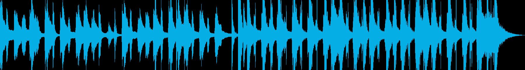 ティーン ポップ ロック ファンク...の再生済みの波形