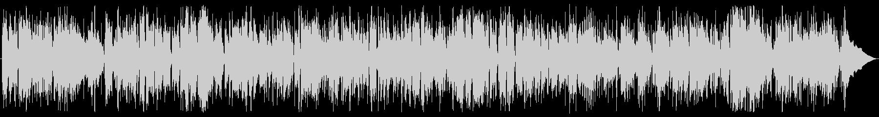 ソフトフュージョンのスイングテイストの未再生の波形