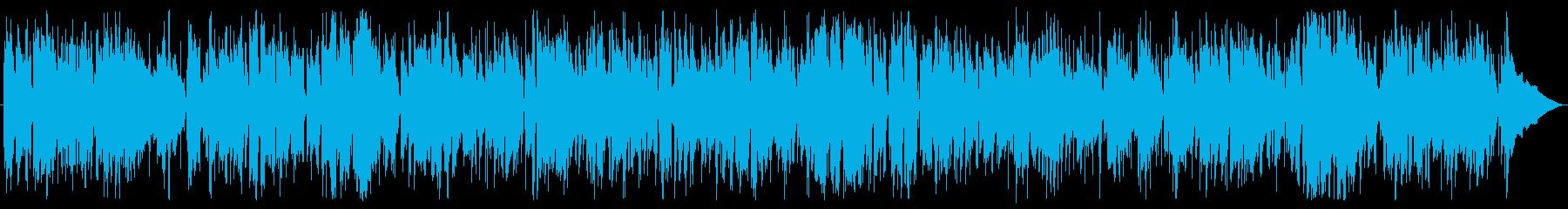 ソフトフュージョンのスイングテイストの再生済みの波形