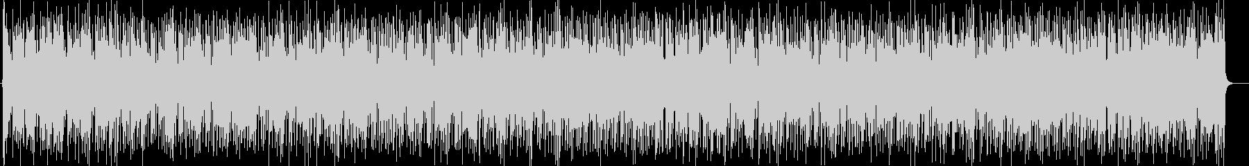 ダンサブルなリズムにシャープなサウンドの未再生の波形