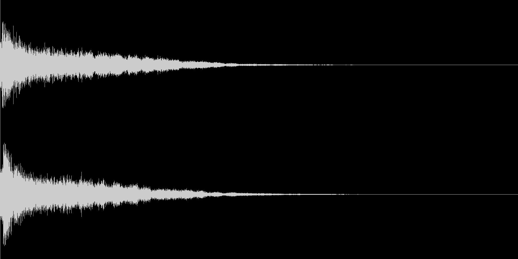 かわいい系 キラキラ系 光る音12の未再生の波形
