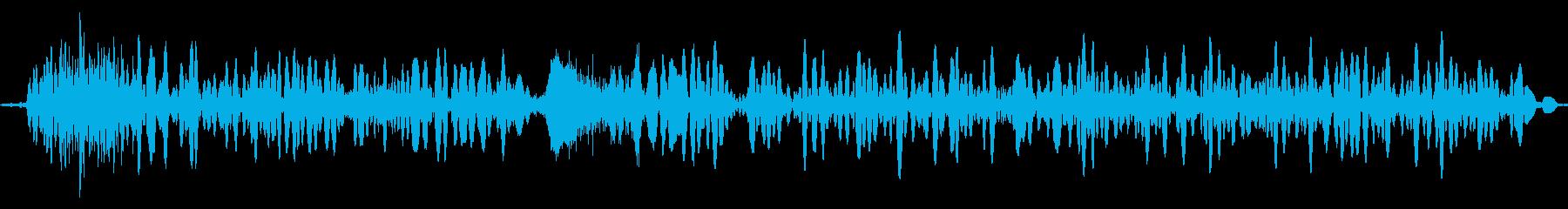 カエル モンスター ゲーム 考え中の再生済みの波形