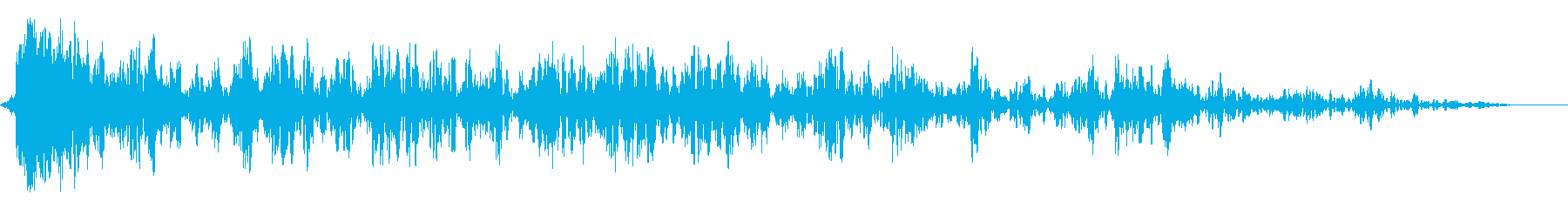 雷爆発の再生済みの波形