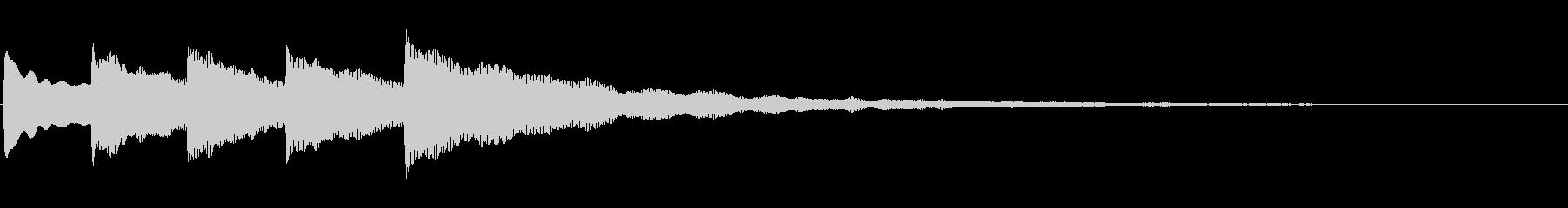 Bell-ジングル_04の未再生の波形