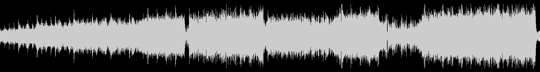 電子音 オーケストラ ラスボス戦 ループの未再生の波形