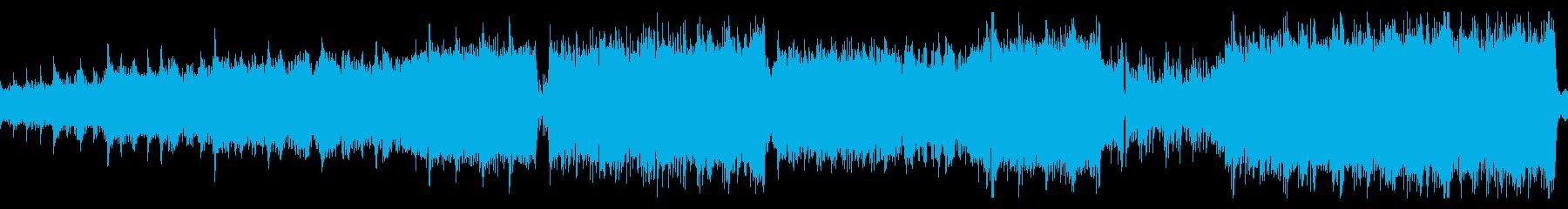 電子音 オーケストラ ラスボス戦 ループの再生済みの波形