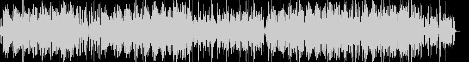 琴と三味線のおしゃれでポップな和風曲の未再生の波形