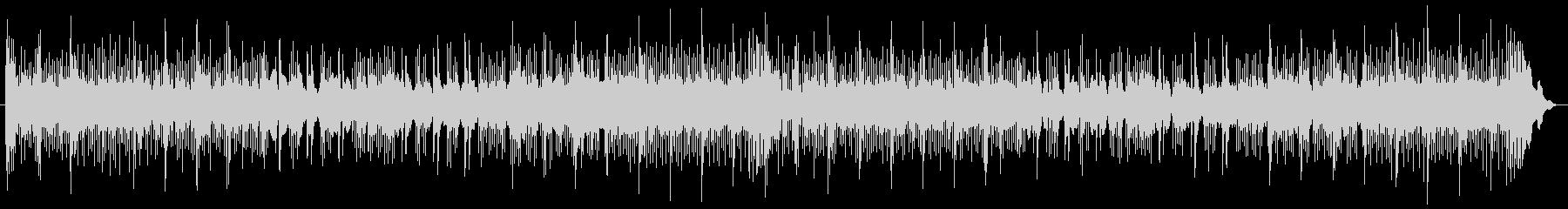 低シンセサイザーパッドとバスドラム...の未再生の波形
