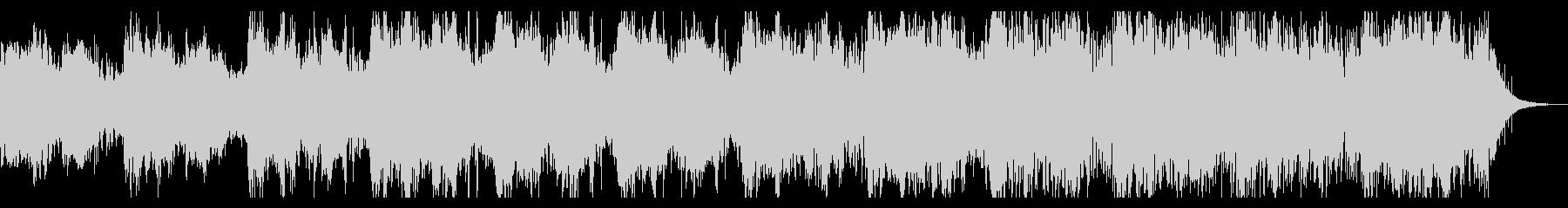 ダークでノイジーなテクスチャIDMの未再生の波形