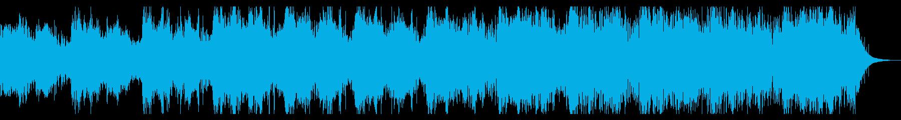 ダークでノイジーなテクスチャIDMの再生済みの波形