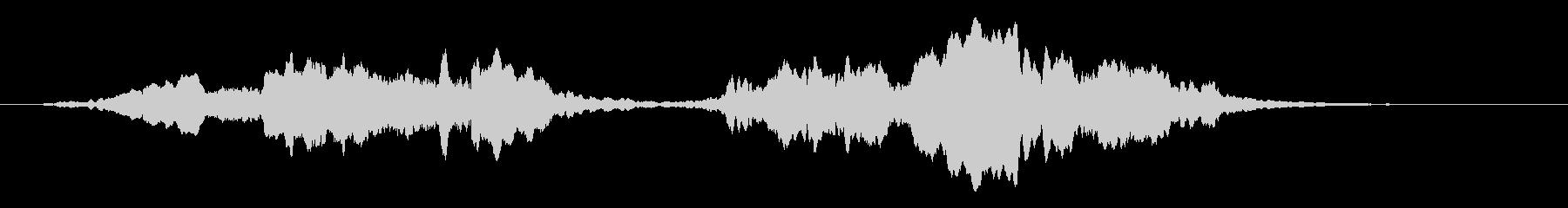 キヒィ~(バイオリンでハロウィン効果音)の未再生の波形