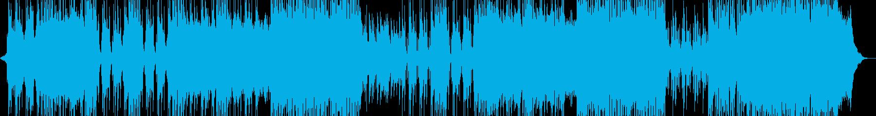 スリラーシンセ・ホラーなR&B ホルン有の再生済みの波形