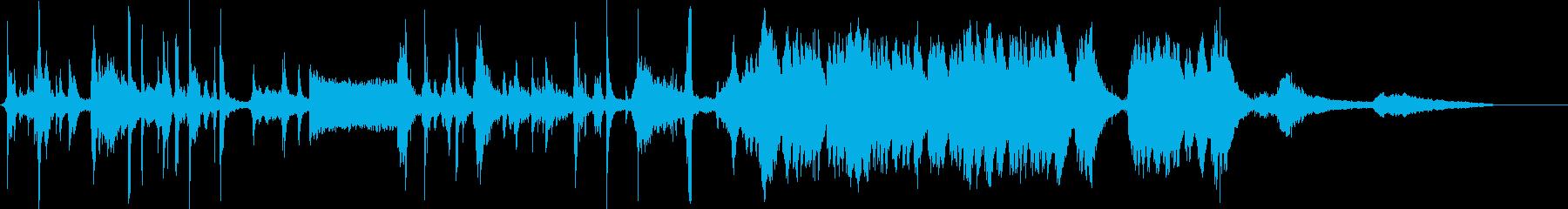 ハロウィーンの夜に再生するサウンド...の再生済みの波形