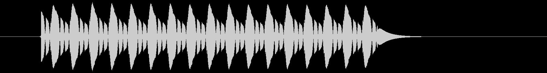 【効果音】クイズ系_はずれ02の未再生の波形