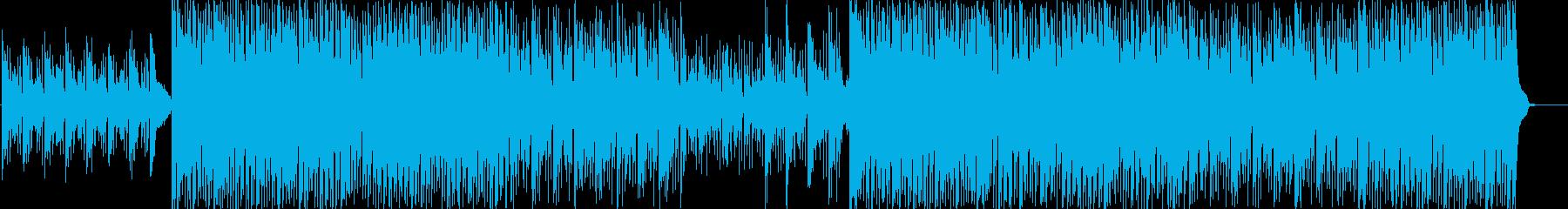 動画 アクション 静か お洒落 フ...の再生済みの波形