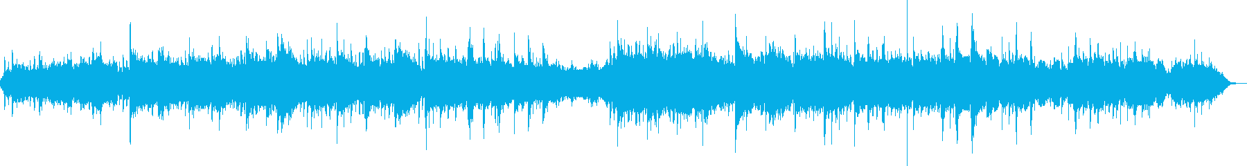 The sound of a wind instrument that feels warm's reproduced waveform