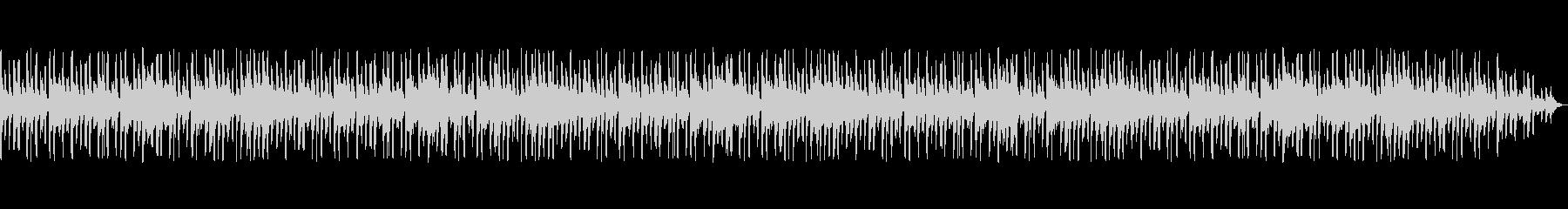 陽気なラテン調のジングル・管楽器メインの未再生の波形