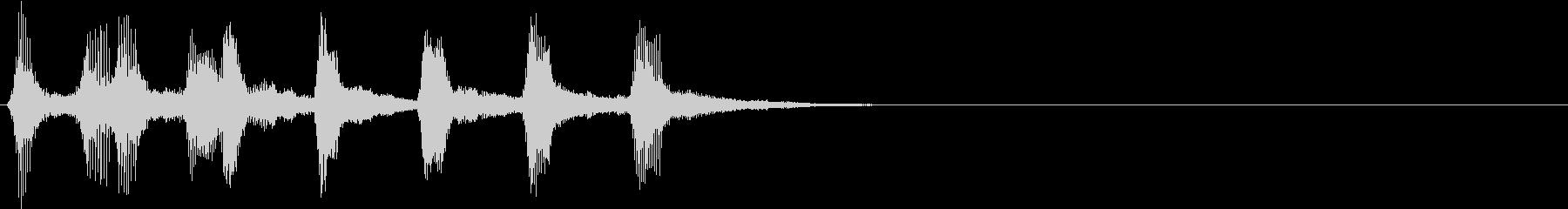 ハロウィン モンスター 不気味ジングル2の未再生の波形
