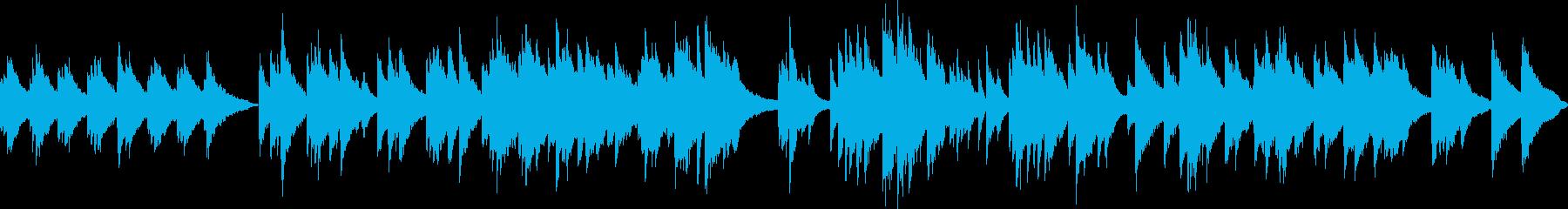 ピアノ演奏(ループ)希望・朝日・キラキラの再生済みの波形