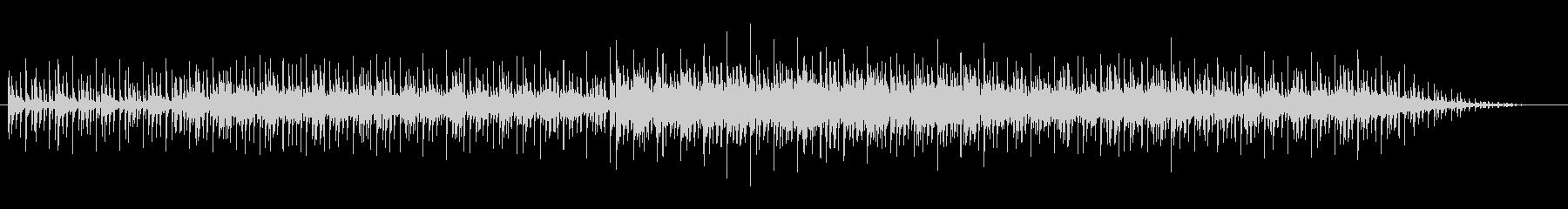 雄大なピアノ・サウンドの未再生の波形