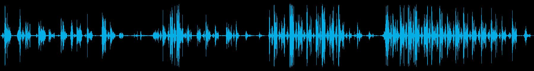 グランクライク・グローリング、ライ...の再生済みの波形