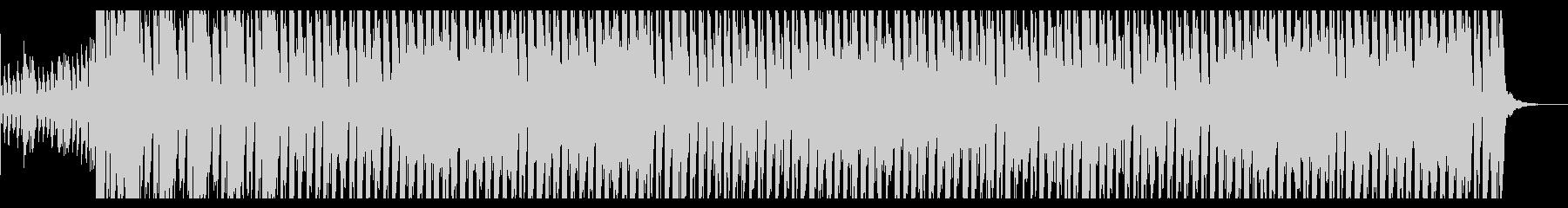 ドンキーコング風ジャングルBGMの未再生の波形