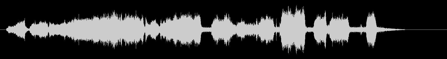 グラインダーのメタル;機械回転スト...の未再生の波形
