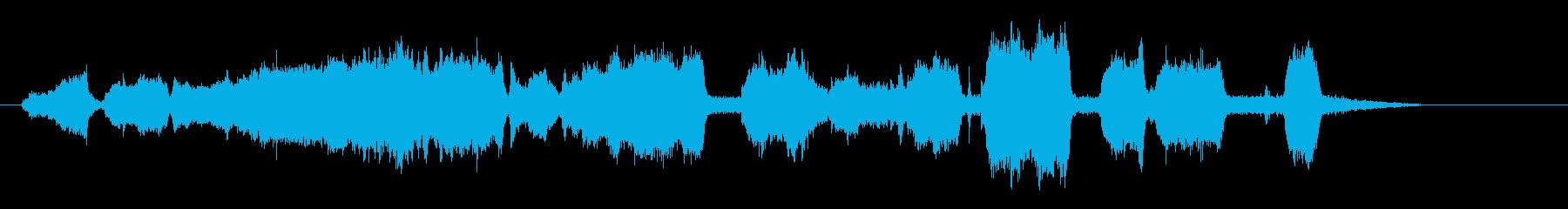 グラインダーのメタル;機械回転スト...の再生済みの波形