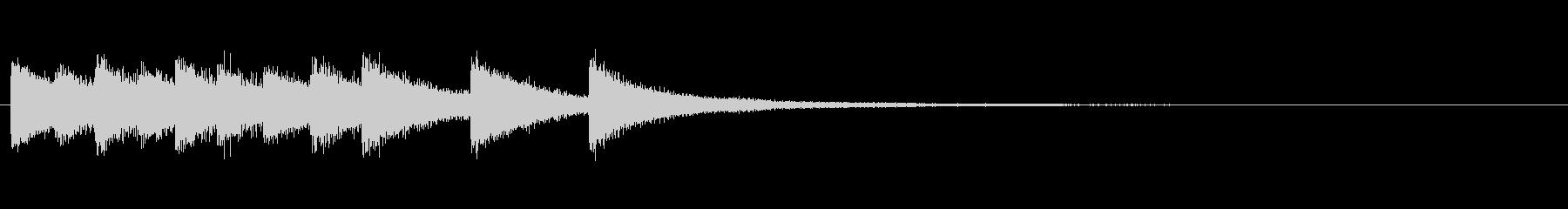 【結果発表02-1】の未再生の波形