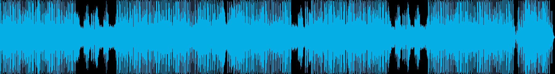 王の品格を表したヒップホップの再生済みの波形