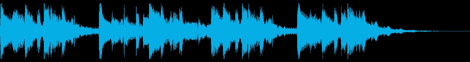 ショート Lofi Trap イントロ曲の再生済みの波形