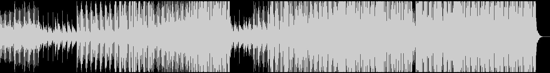 クール、トロピカルハウス、洋楽テイストの未再生の波形