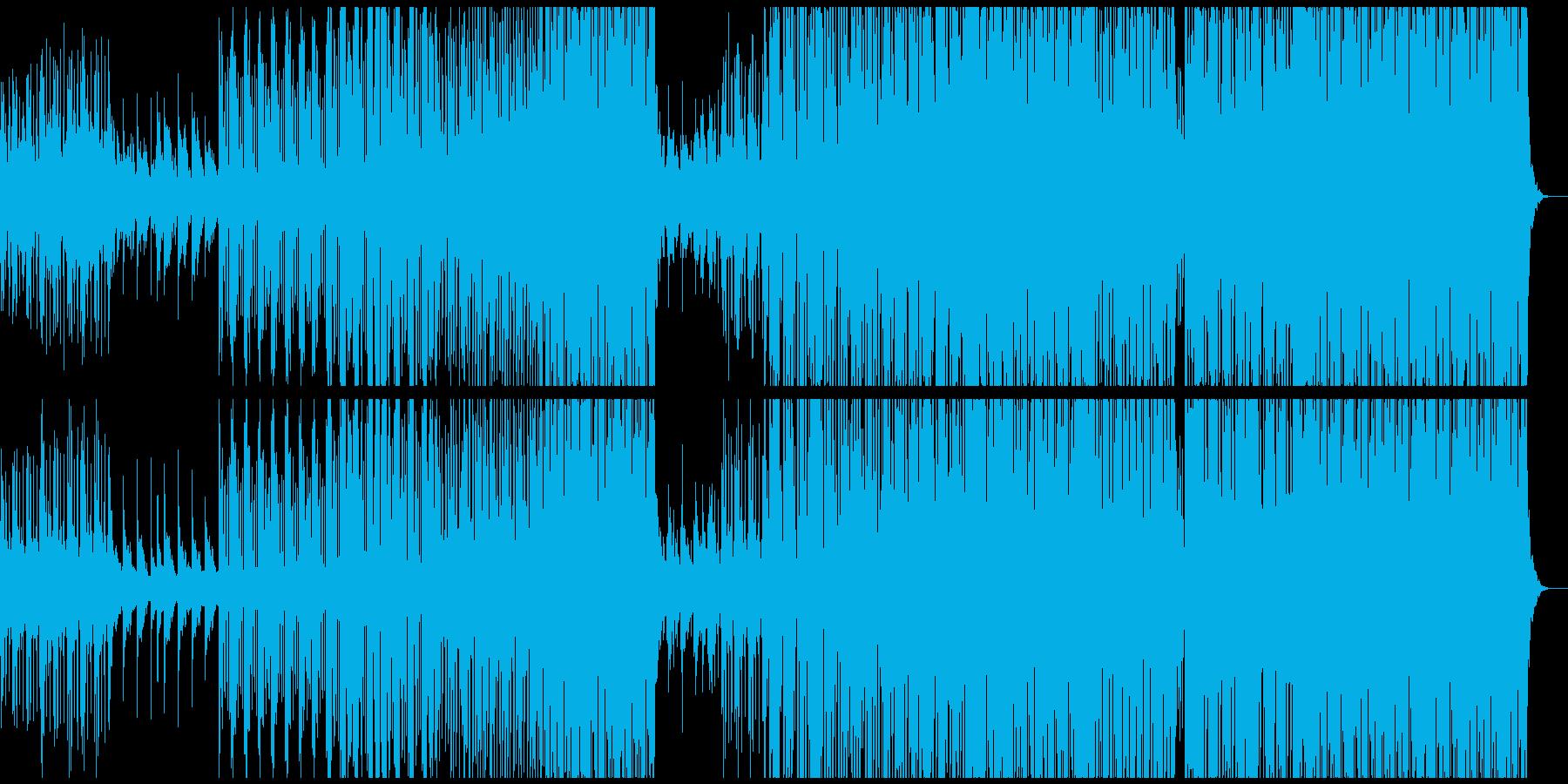 クール、トロピカルハウス、洋楽テイストの再生済みの波形