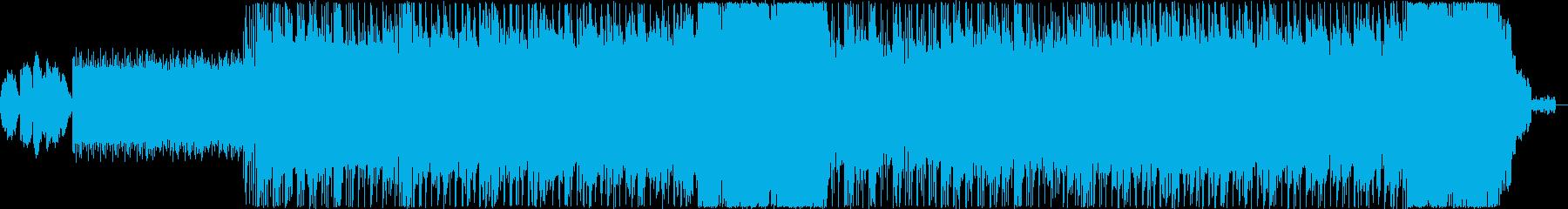 さまざまな歌、エネルギッシュでポジ...の再生済みの波形